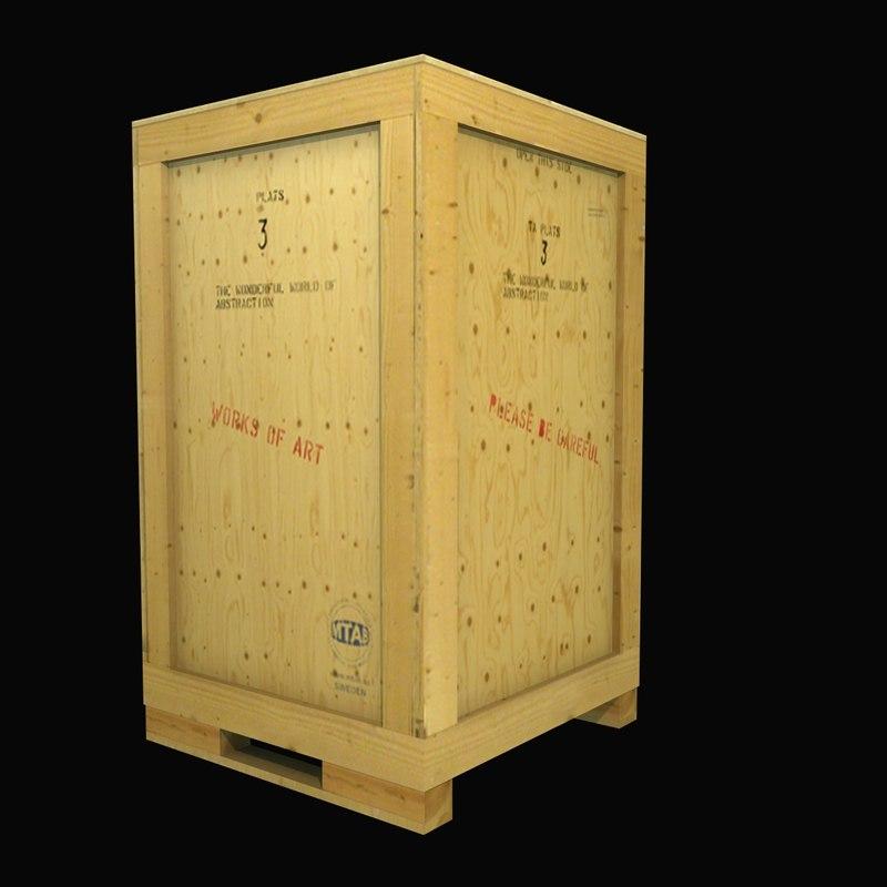 wooden box max