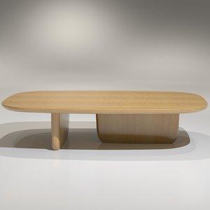 Tobi-Ishi Coffee Table T140L