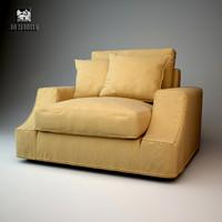 giorgetti armchair max