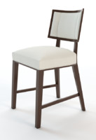 Dining chair with nailhead