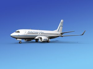 3d model boeing 737-700 737 airlines