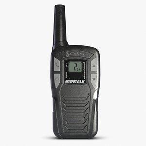 3d model cobra radio sl 1500