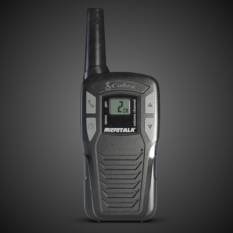 3d model cobra radio sl 1500