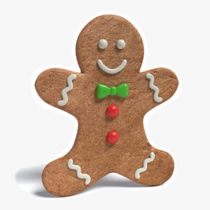 3ds max gingerbread man