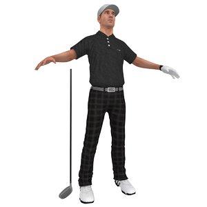 max golfer player hat