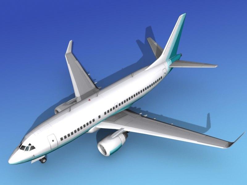 boeing 737-700 737 737-700er 3d max