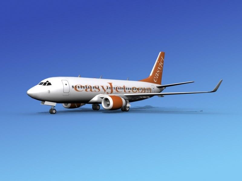 boeing 737-700 737 737-700er 3d 3ds