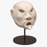character head sculpt 3d max