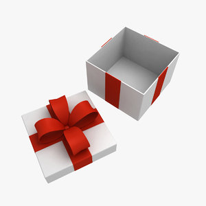 3ds max gifts box