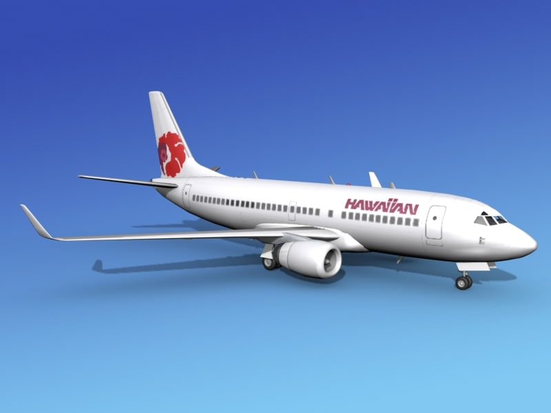 3d boeing 737-700 737 airlines