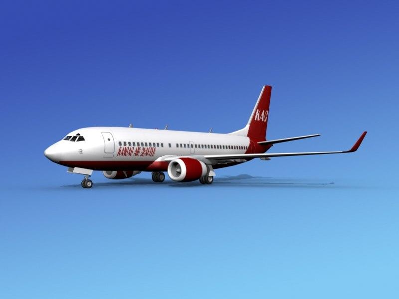 boeing 737-700 737 737-700er 3d x