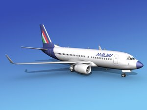 3d boeing 737-700 737 airlines model