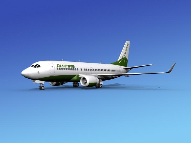 3d boeing 737-700 737 737-700er