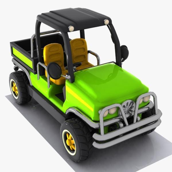 3d cartoon pickup pick