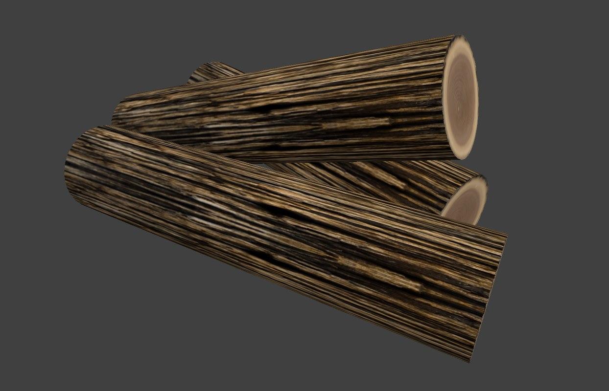 ready firewood 3d 3ds