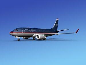 3ds boeing 737-700 737 737-700er