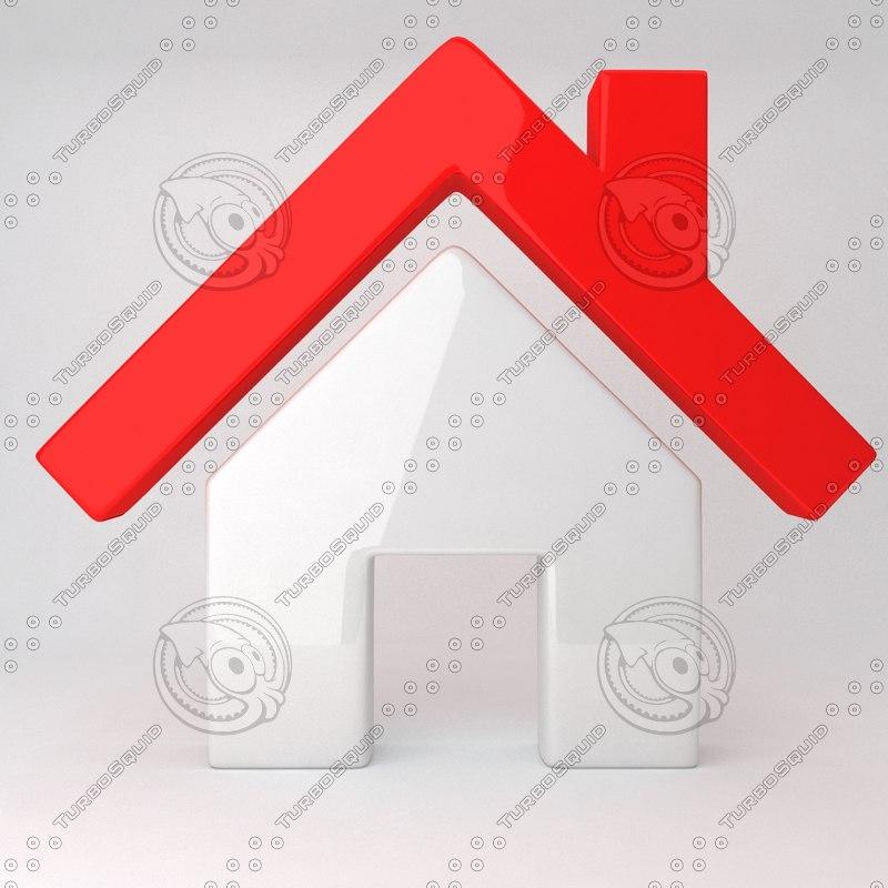 3d model of sale house