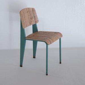 chair rust 3d max