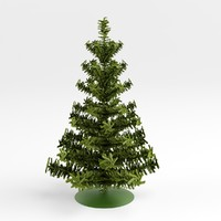 Green Spruce with support
