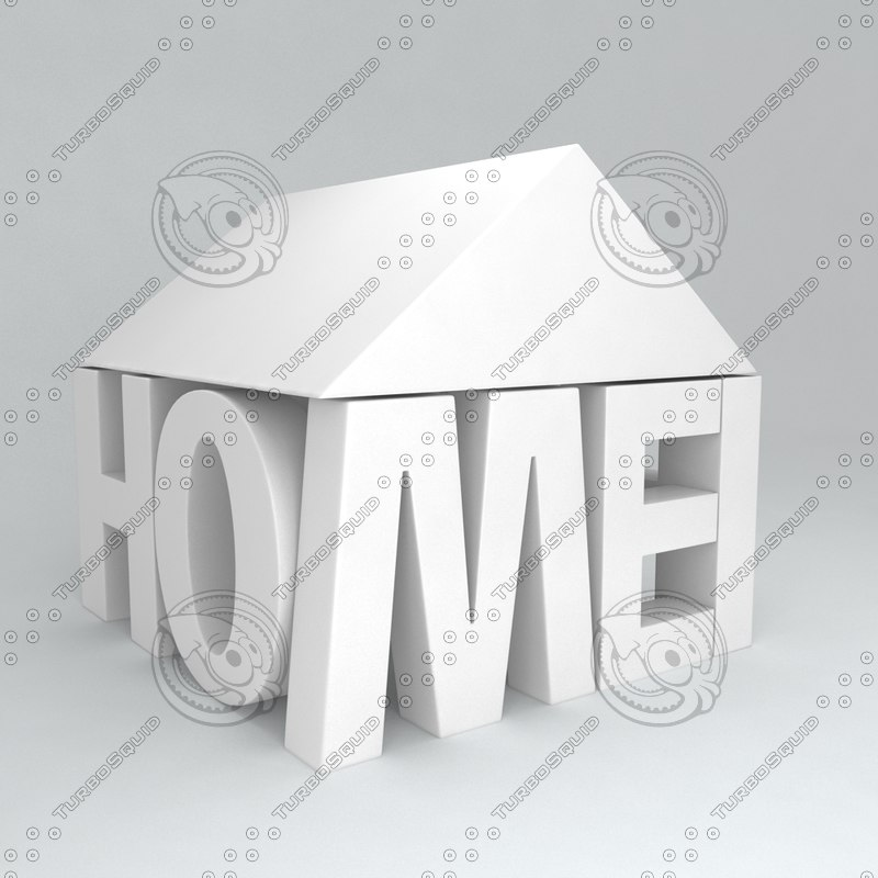 icon house 3d max