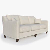 Baker - 194-84 BERKLEY LOOSE BACK SOFA
