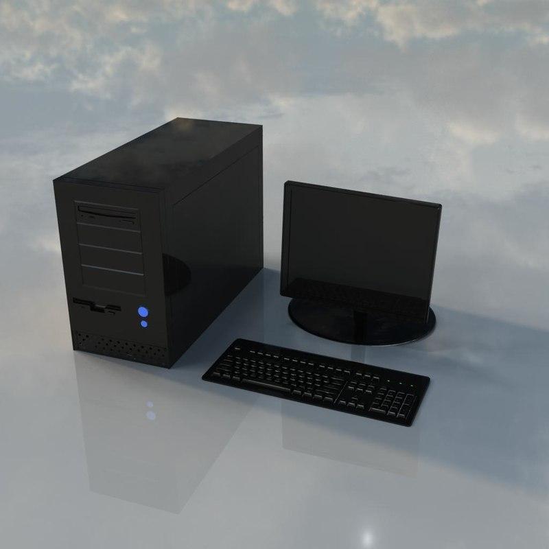3d model computer