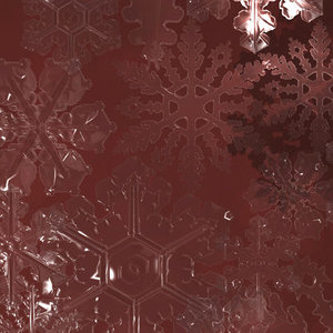 3d model snowflakes snow flakes