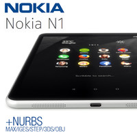 3ds max nokia n1 tablet