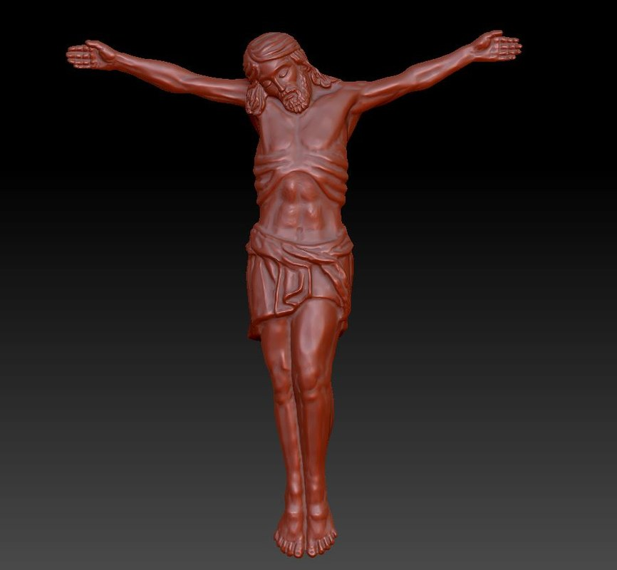 3d model jesus christ