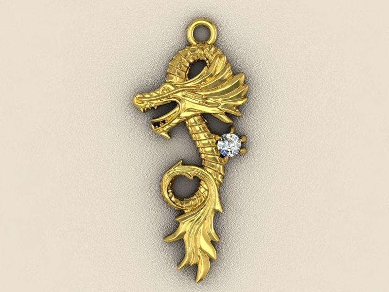 3d cnc gems gold model