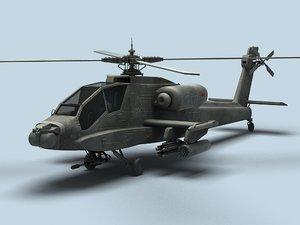 apache ah-64 3ds