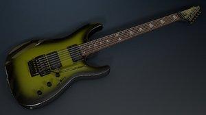 metallica kirk hammett - 3d 3ds