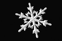 3d model snowflake snow flake