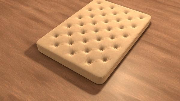 c4d editable mattresses