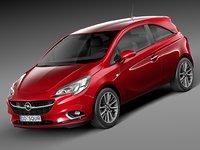 Opel Corsa 3-door 2015