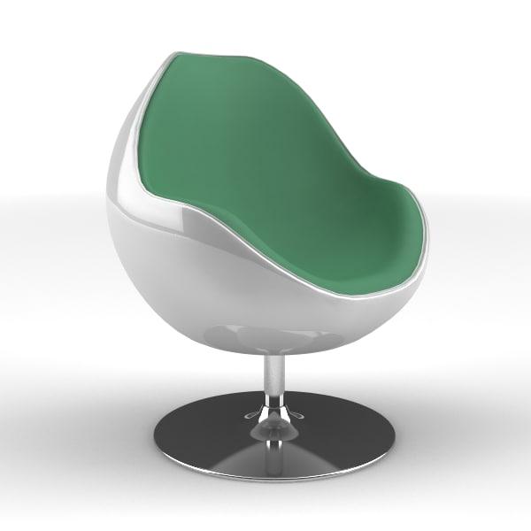 lwo modern scoop chair