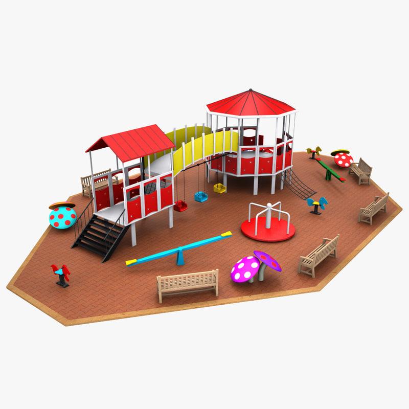 playground modeled max