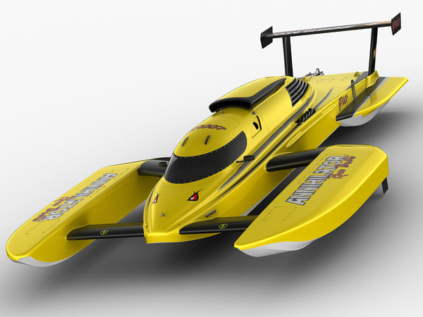 hydroplane annihilator 3d max