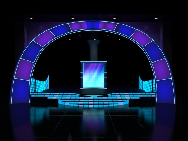 3d stage lighting