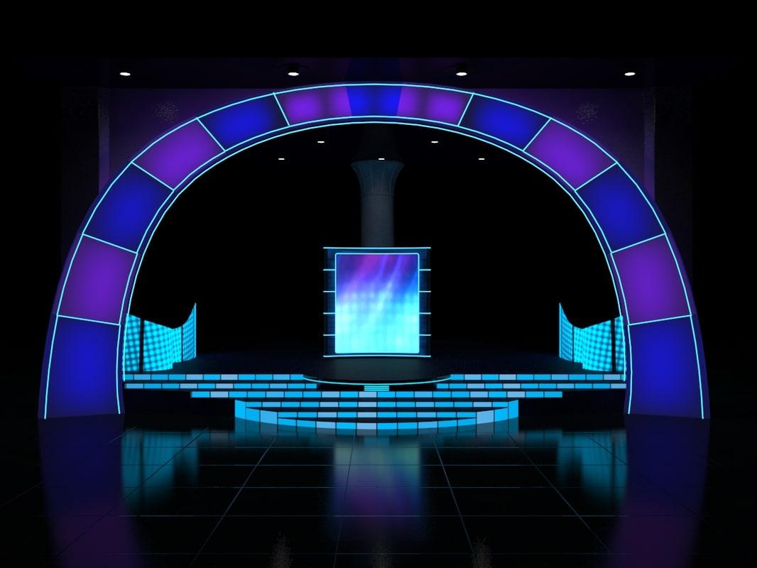 3d stage lighting