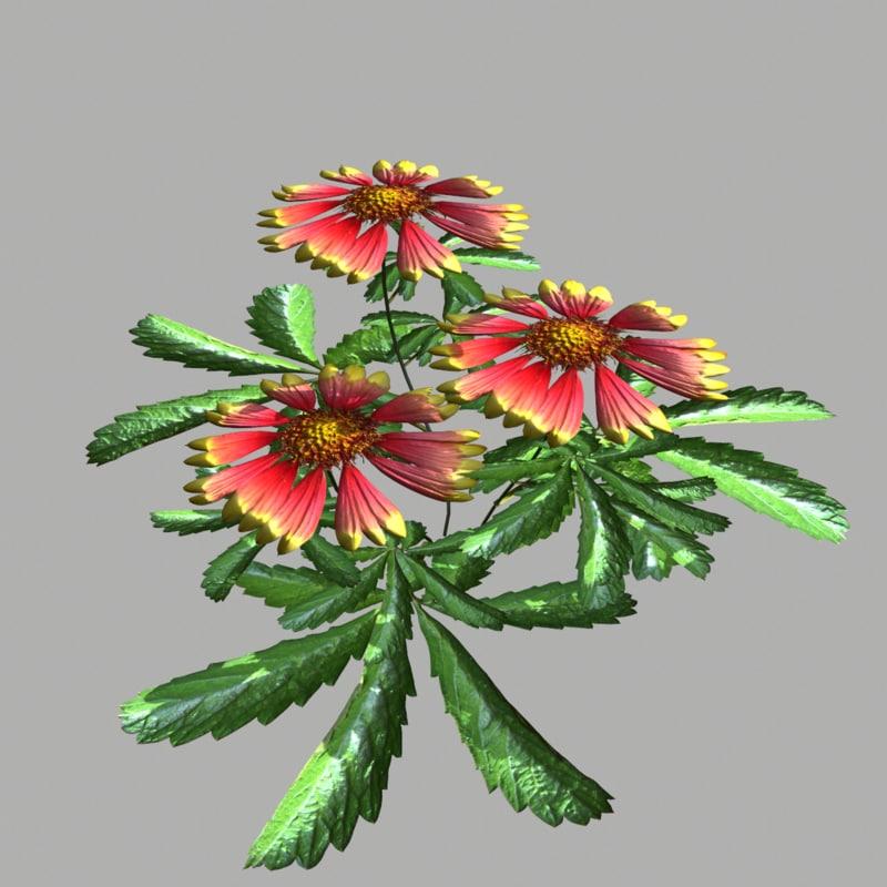 3ds max flower 13