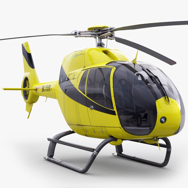 3d model eurocopter ec 120