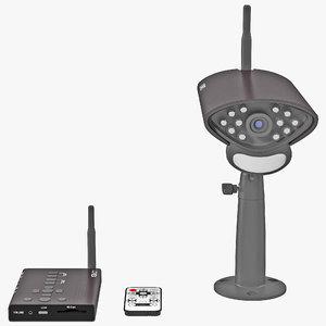 wireless surveillance lorex 3d model