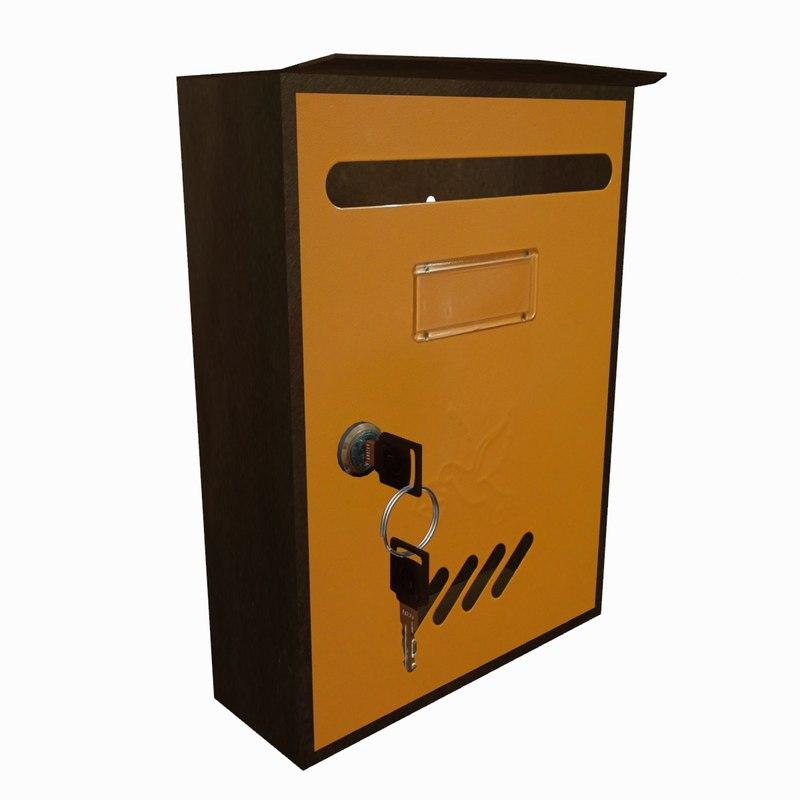 3ds max mail box