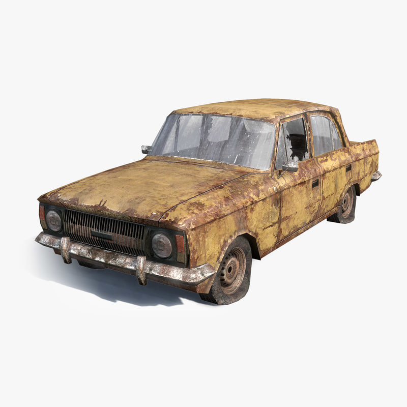 3d model rusty 412