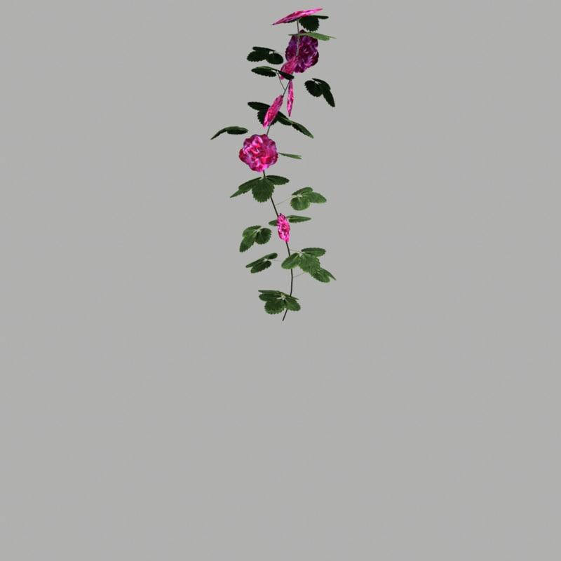 3d model flower 19