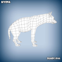 Hyena base mesh