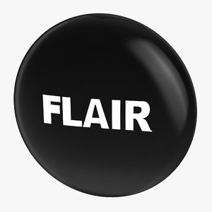 obj flair pin