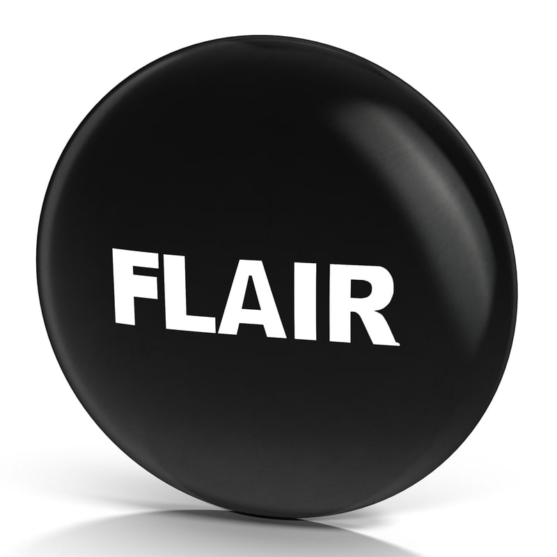 obj flair pin