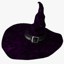 Witch Hat 3D models